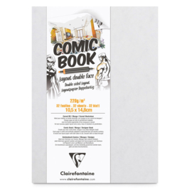 Clairefontaine Comic Book alcohol marker papier - 32 vellen - A6