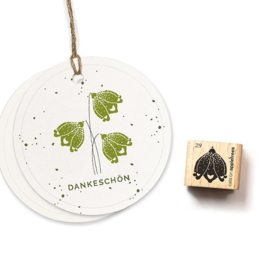 Cats on Appletrees - Houten stempel - 15x15mm - Blossom 29 - Spring Snowflake 2