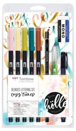 Tombow Blended Lettering Cozy Times set - set van 10
