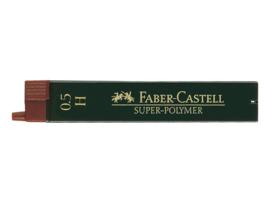Faber Castell navulling potloodstiftjes Super-Polymer 0,5 mm - Hardheid H