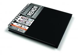 Rendr Alcohol Marker Drawing Pad 20,3 x 20,3 cm - spiraalblok - 64 pagina's - 180 grams Wit