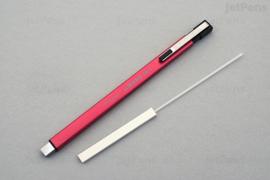 Tombow Mono Zero metal Gumpen - extra fijn 2,5 x 5,0 mm - Metal pink