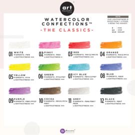 Prima Marketing Confections Aquarelverf The classics - set van 12 kleuren