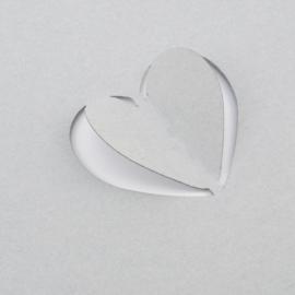 Vaessen Creative - Magnetische pons pop up hart 38mm
