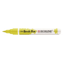 Talens Ecoline Brush Pen - 233 chartreuse