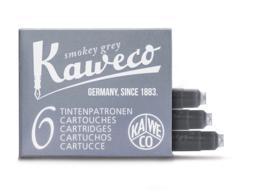 Kaweco inktpatronen - set van 6 - Smokey Grey
