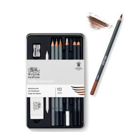 Winsor & Newton Studio Collection Schetspotloden - set van 10