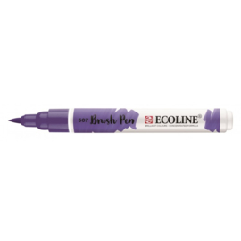 Talens Ecoline Brush Pen - 507 ultramarijnviolet