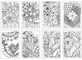 Chameleon Color Cards - Zen Doodles 10 x 15 cm - set van 16