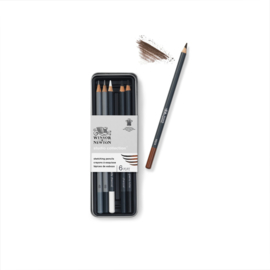 Winsor & Newton Studio Collection schetspotloden - set van 6