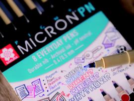 Sakura Pigma Micron PN Fineliner - Set van 8 kleuren