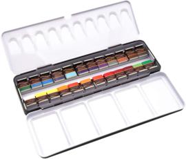 Paintersisters Aquarelverf ARTIST  - set van 24 kleuren