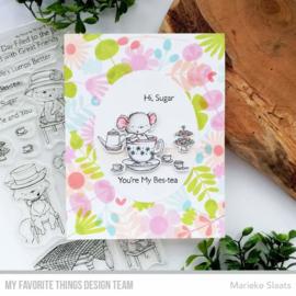 My Favorite Things clear stamps - set van 17 - SY Tea Party