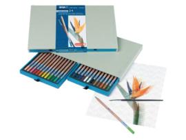 Bruynzeel design aquarelpotloden - set van 24