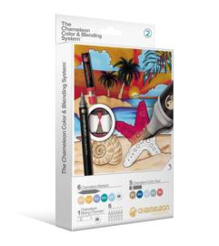 Chameleon Alcohol based Pens - Color & Blending System 18 delig - Set 2