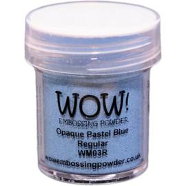 WOW embossing powder - Opaque Pastel Blue Regular WM03R