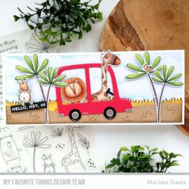 My Favorite Things clear stamps - set van 23 - Sweet Safari