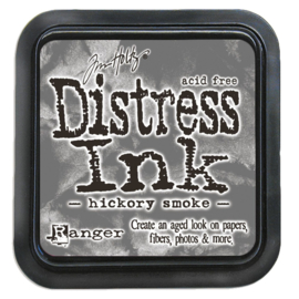 Tim Holtz Distress ink pad - hickory smoke