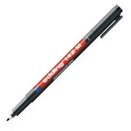 Edding permanent pen 142M - ronde punt punt 1 mm zwart