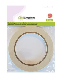 CraftEmotions Dubbelzijdig klevend tape 6 mm -  20 meter