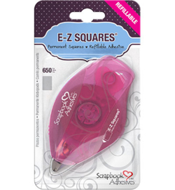 E-Z Squares Permanent dubbelzijdige tape wit - 8mm