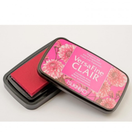 Tsukineko VersaFine clair vivid inkpad 9,7 x 5,6 cm - Charming pink