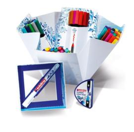 Edding Colour Happy Big box - set van 70 brush pennen incl. kleurenmixer