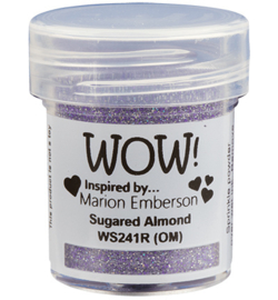 WOW embossing Glitter - Sugared Almond WS241R