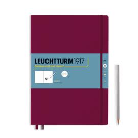 LEUCHTTURM 1917 Sketchbook Master 22,5 x 32 cm - 150 grams - Port Red