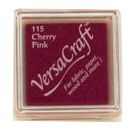 VersaCraft inktkussen small - Cherry pink