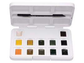 Van Gogh aquarelverf - Pocketbox 12 napjes - Shades of Nature
