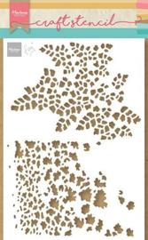 Marianne Design Mask stencils - Tiny's Vlinder textures - A5