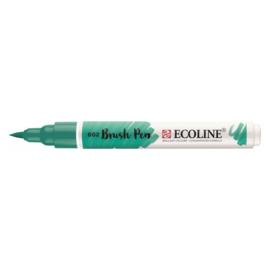 Talens Ecoline Brush Pen - 602 donkergroen