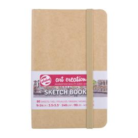 Talens art creation Brush / Schetsboek 9 x 14 cm - 80 vellen - Kraft