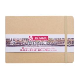 Talens art creation Brush / Schetsboek 21 x 15 cm - 80 vellen - Kraft