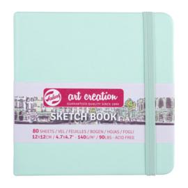 Talens art creation Brush / Schetsboek 12 x 12 cm - 80 vellen - Frismint