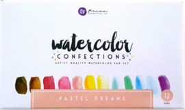 Prima Marketing Confections Aquarelverf Pastel Dreams - set van 12 kleuren