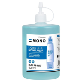 Tombow AQUA Liquid ultra strong glue lijm - 500 ml navulling