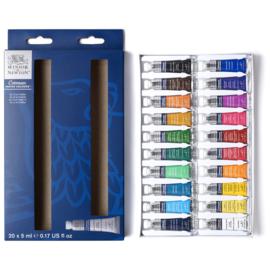 Winsor & Newton Cotman Water Colours tubes - set van 20