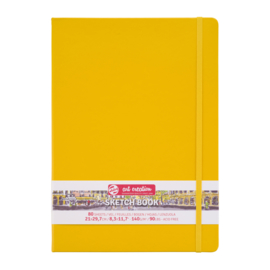 Talens art creation Brush / Schetsboek 21 x 29,7 cm - 80 vellen - Golden Yellow