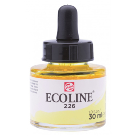 Talens Ecoline Vloeibare waterverf 30 ml - 226 pastelgeel