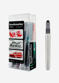 Karin Brushmarker PRO Basic colours + Blender - set van 12