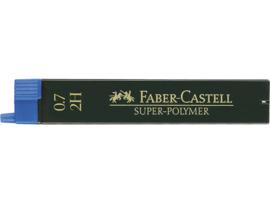 Faber Castell navulling potloodstiftjes Super-Polymer 0,7 mm - Hardheid 2H