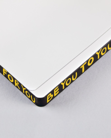 Nuuna Notitieboek - 256 pagina's - Square XL Hey you by Marija Mandic