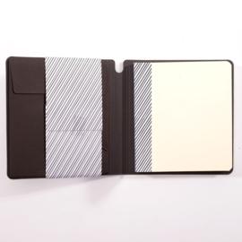 Paperfuel Journal notebook 16 x 16 cm - 48 pagina's - Zwart - Wit papier
