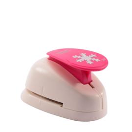 Vaessen Creative -  Figuurpons sneeuwvlok maxi 38mm