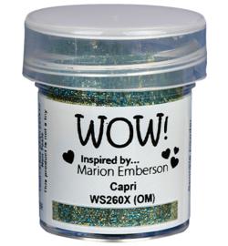 WOW embossing Glitter - Capri WS260X