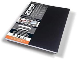 Rendr Alcohol Marker Sketchbook 21,5 x 27,9 cm - 64 pagina's - 180 grams Wit