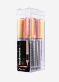 Karin Brushmarker PRO Skin colours - set van 12