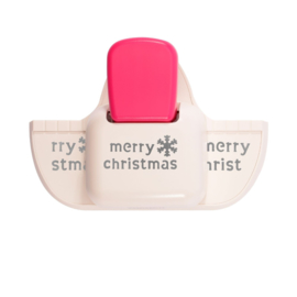 Vaessen Creative -  Randpons diepe rand Merry christmas